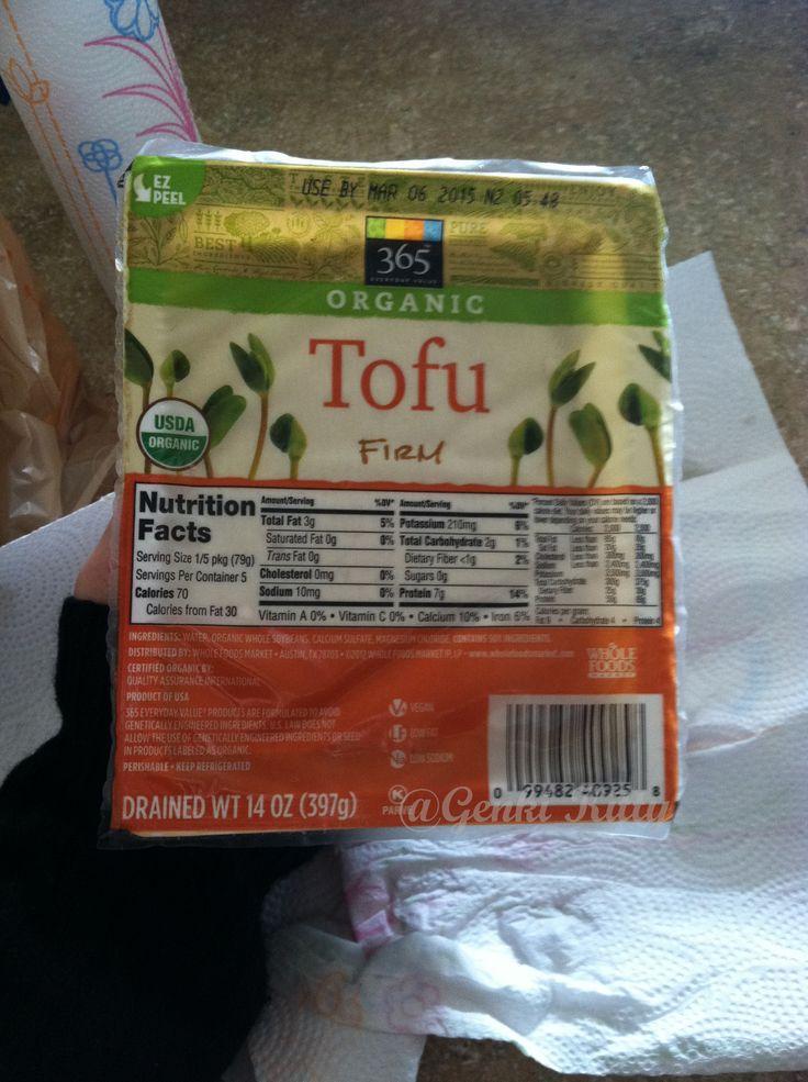 Don't Buy Whole Foods Market Tofu