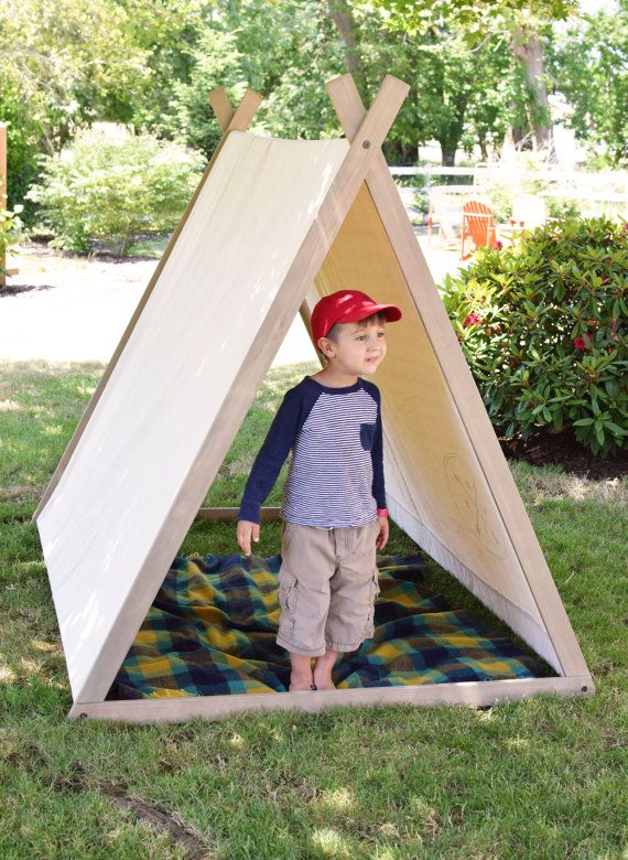Grand Expedition Tent A-Frame Tent Play Tent Teepee by BourbonMoth