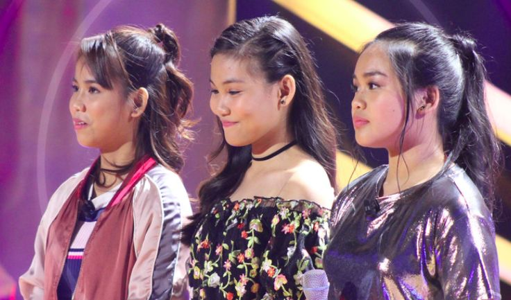 """Christy Lagapa, Zyra Peralta and Arixsandra Libantino performed on The Voice Teens Philippines Knockout Rounds. In an episode aired Saturday, July 8, Christy performed her version of """"Son of A Preacher Man"""" by Dusty Springfield, Zyra sang """"Counting Stars"""" by OneRepublic and Arixsandra with """"Chandelier"""" by Sia. """"My vote goes to Christine,"""" said Lea Salonga. Sarah Geronimo also picked Christine as the winner for this round. Coach Sharon picked Christy as the winner for this round while Zyra…"""