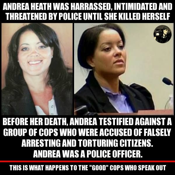 Protect the whistle blowers! ALL of them! There are good cops...and this is what happens to them when they speak out...so that there will be no more good cops. Stop protecting cops from the law.