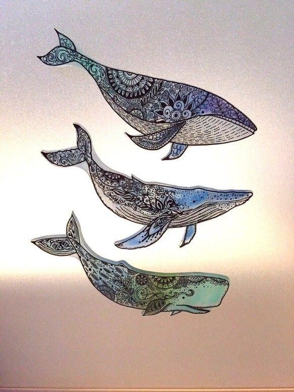 クジラシリーズセット earthブローチ
