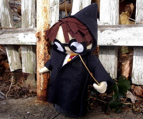 DIY Harry Potter Doll