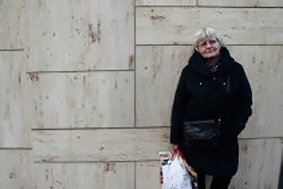 Meet Irmela Mesham Schramm, 67. She goes our every morning in Berlin and cleans up expressions of racism and other intolerance and hate on the streets. Graffiti lady with a mission. Wonderful documentary project is now being filmed about her work, with a stron anti-racist perspective. JOin her and support her!  http://www.mesenaatti.me/projects/hate-destroyer/