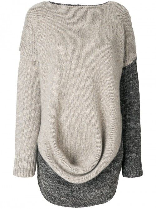 Pringle+Of+Scotland+Drape+Front+Jumper+Women+Cashmere+Wool+Cashmere+Wool+|+Dress+and+Clothing