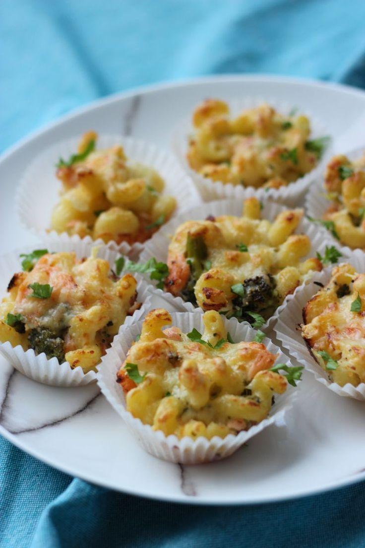 """Het lekkerste recept voor """"Macaronimuffins"""" vind je bij njam! Ontdek nu meer dan duizenden smakelijke njam!-recepten voor alledaags kookplezier!"""