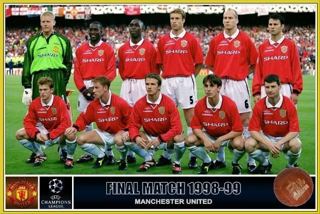 Manchester United, (1998/99 Treble Winning Team)
