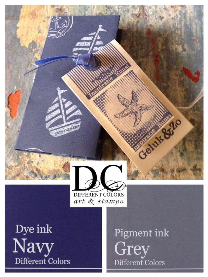 Different Colors Stempel