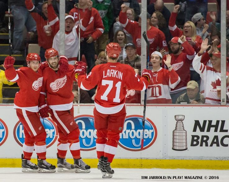 RED WINGS SCHEDULE 2016-17