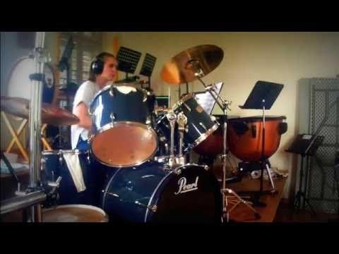 Cover Drum - Face à la mer-Calogéro - MéloDrums (Avec partition) - YouTube