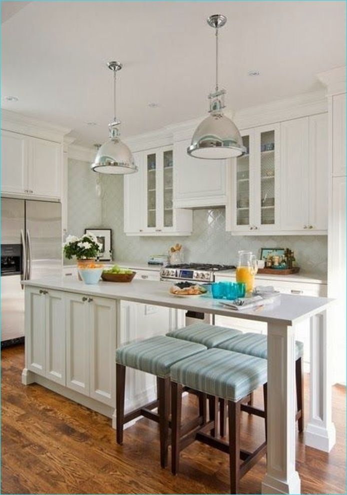 Narrow kitchen island with seating 5 kitchens dining - Narrow kitchen island ideas ...