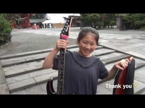 Li-Sa-X talks about her GigBlade Sliver guitar bag - YouTube