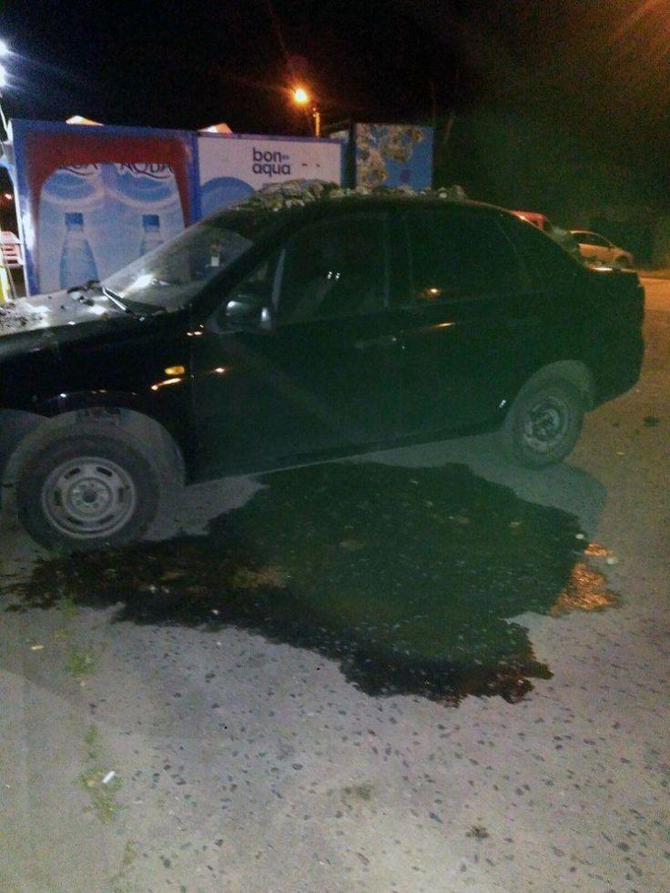 В Белгороде пожилая женщина облила автомобиль фекалиями из-за громкой музыки