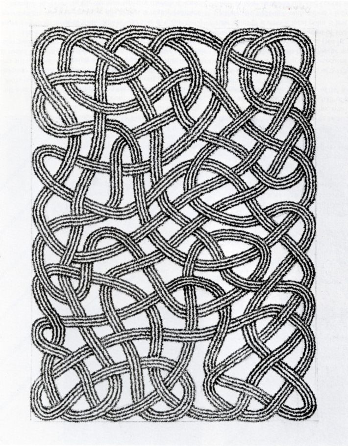 Anni-Albers-drawing-for-rug-1959