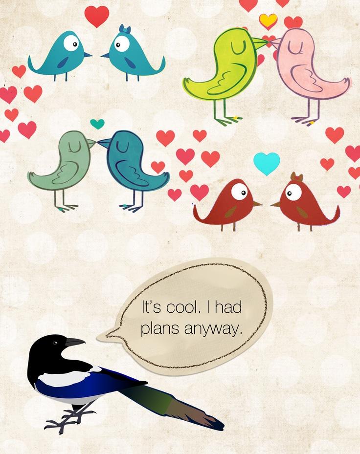 alone on valentine day