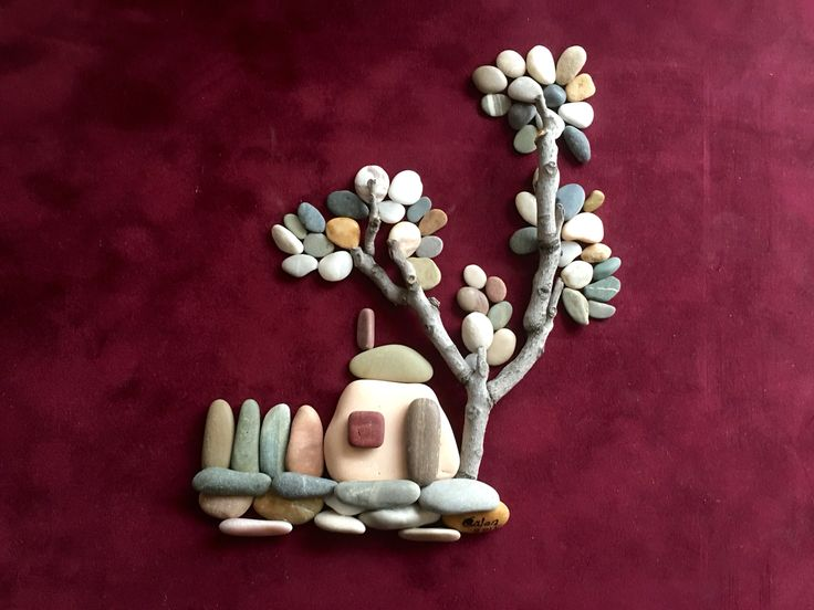 Pebble art by gülen