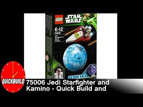Check out the new video on my channel! LEGO Star Wars 75006 Jedi Starfighter & Kamino - Quick Build and Review https://youtube.com/watch?v=YTuWFxGNcv4