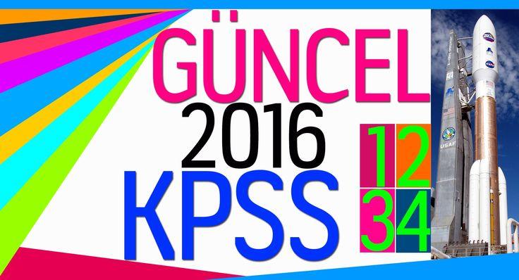 2016 KPSS GÜNCEL 1-2-3-4 (BİRLEŞTİRİLMİŞ)