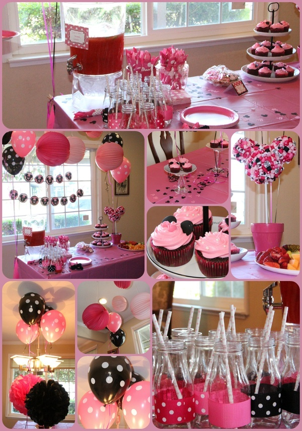 Raising Paityn: Its a Minnie Party: Decorations and a Giveaway!