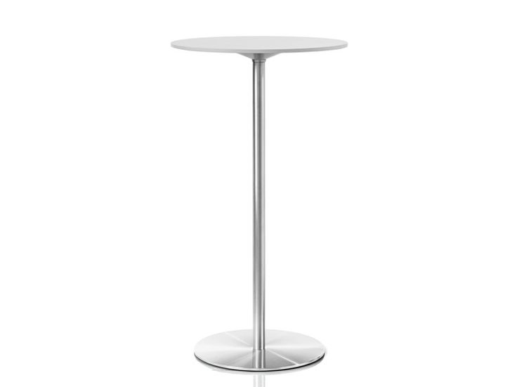 Tavolo alto rotondo in HPL Collezione Passe-partout by Magis