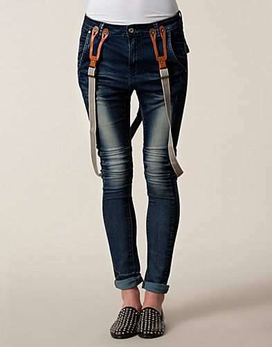 Zoe Non Dnm Jeans - Circle Of Trust - Denim blå - Jeans - Kläder - NELLY.COM