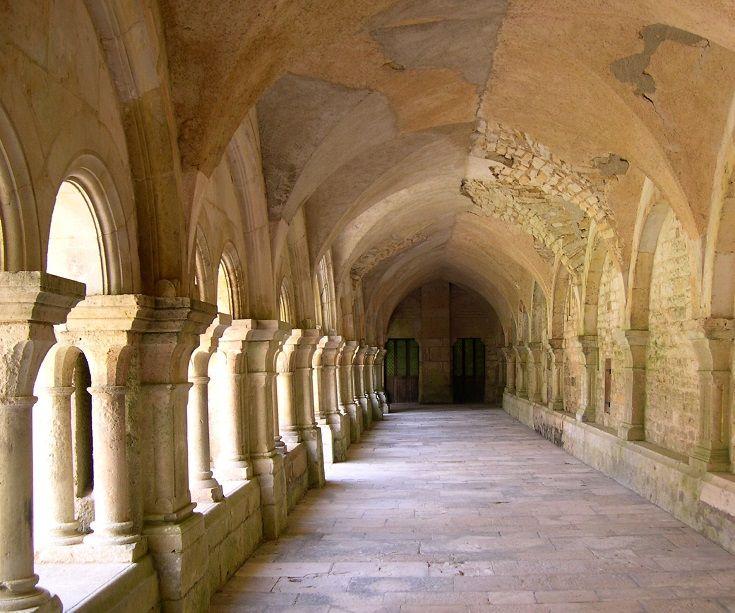 L'Abbaye de Fontenay, Burgundy, France