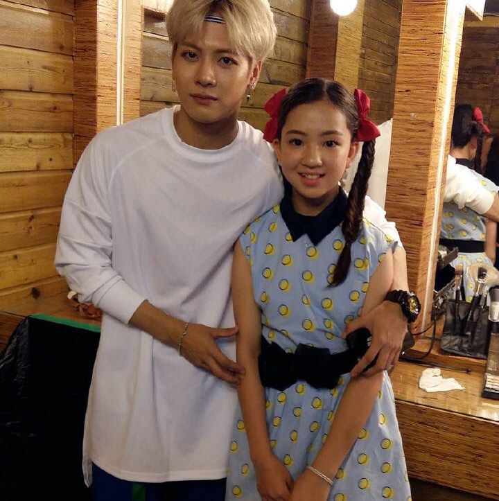 GOT7 Jackson Wang (and the GIRL I WISH I WAS!!! DANG she was also in a drama…
