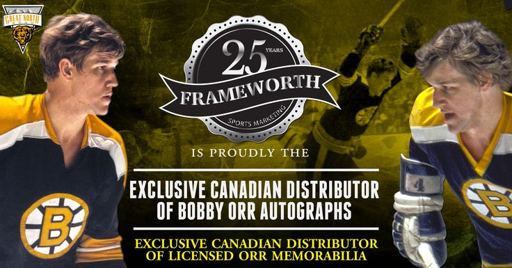 Bobby Orr Private Signing | Frameworth Sports Marketing