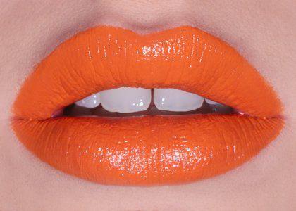 i need it!!! for this season WWW.SPOILEDLATINA.COM: Tangerine Lipstick!