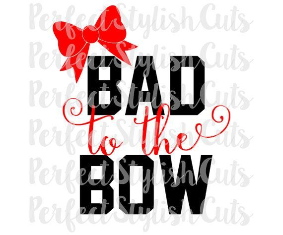 Design: Bad To The Bow SVG, DXF, eps, PNG Files for Cutting Machines Cameo or Cricut - Cheerleading Svg, Cheer Bow Svg, Sports Svg, Cheerleader Svg  Tip: SVGs only work with the Designer edition of Silhouettes Studio software, if you do not have that, you will use the DXF file.  THIS IS A DIGITAL PRODUCT, NO PHYSICAL ITEMS WILL BE SHIPPED, AND NO REFUNDS ARE ALLOWED. However, please contact me if theres anything at all that I can do to help!  These cutting designs are not to be altered…