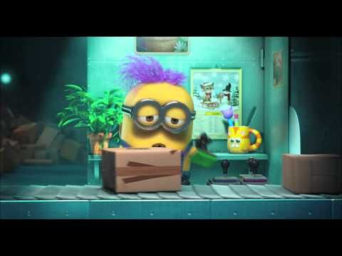 Watch a sneak peek of a new #Minions mini-movie from the Despicable Me 2 Blu-ray Combo Pack, available on December 10th!