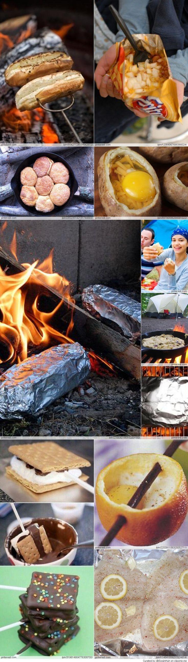 camping food.