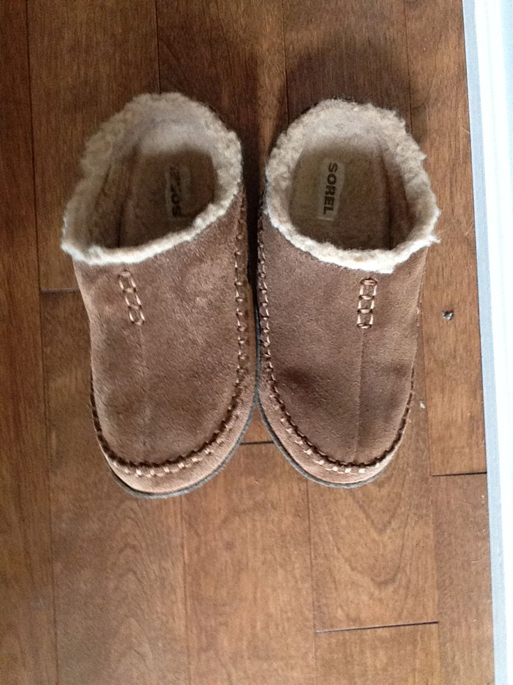 Awesome sorel slippers