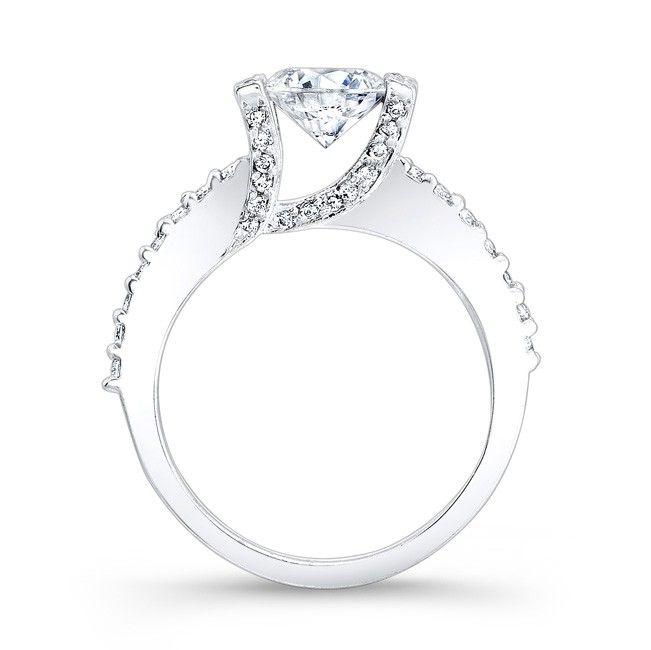 Barkev's Diamond Engagement Ring 7867LW