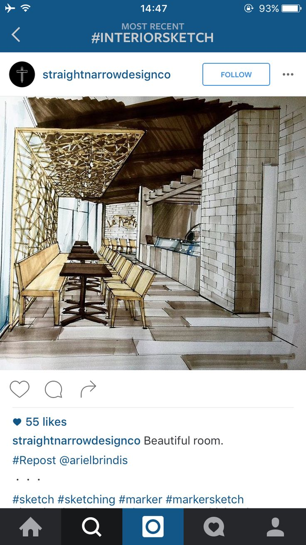 Marker Interior Design Resto
