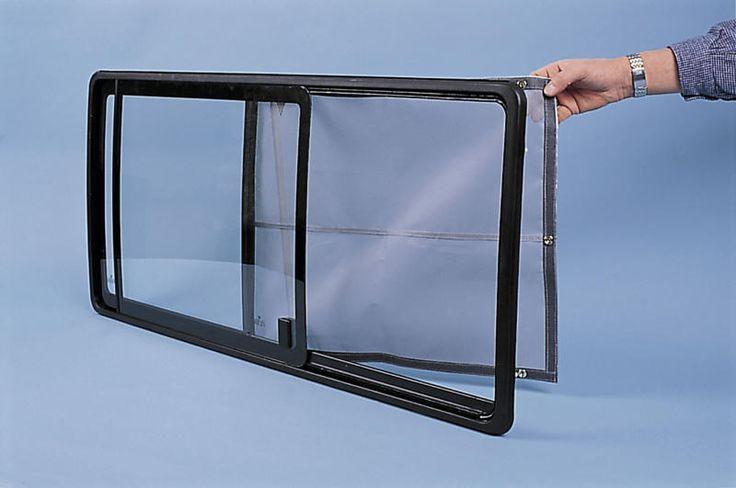 Moskitonetz Insektenschutzgitter für VW T4 bis Bj. 2003 Kombi-Bus - Schiebefenster