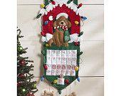 Puppy Dog Advent Calendar - Count the days til Christmas