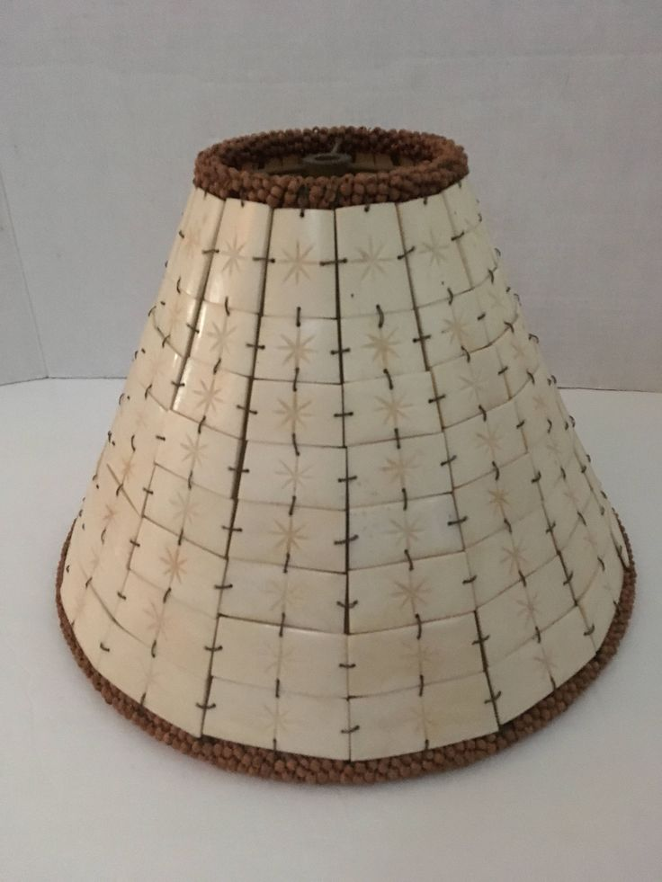 The 25 best large lamp shades ideas on pinterest large lamps items similar to beige tile bead heavy large lamp shade lampshade lighting accessory on etsy greentooth Image collections