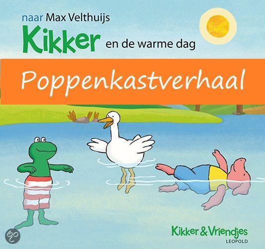 Opening thema  Poppenkast Ik heb het verhaal van Kikker en de warme dag aangepast tot een poppenkastverhaal. Veel leerkrachten hebben de kleine knuffels van Kikker en zijn vriendjes,