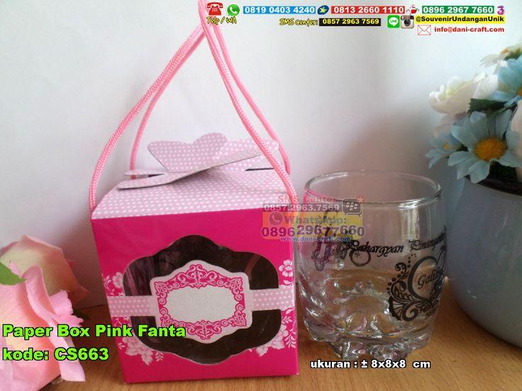 Paper Box Pink FantaPaper Box Pink Fanta WA 0857-4384-2114 & 0819-0403-4240 BBM 5B47CC61 #PaperBox #HargaBox #souvenirUnik
