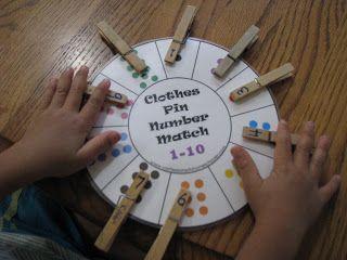 Math Workbox: Preschool Activities