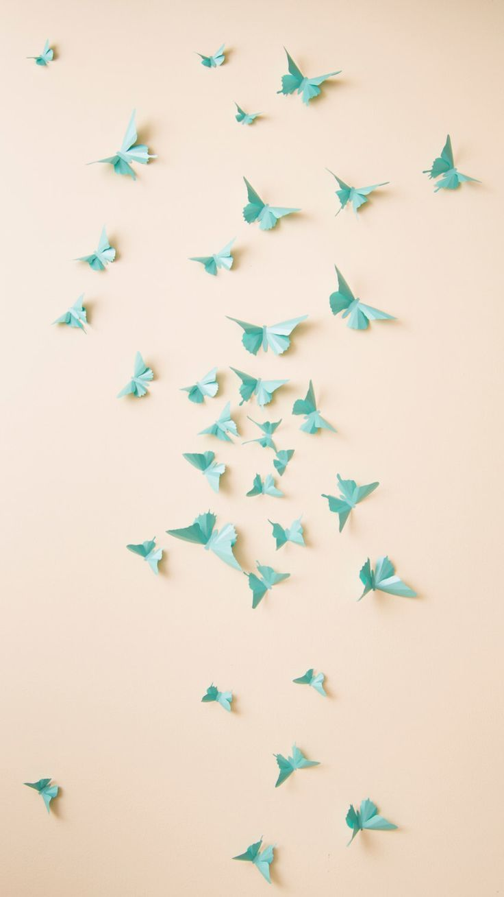 Nursery Wall Decor Butterflies : Ideas about butterfly wall art on