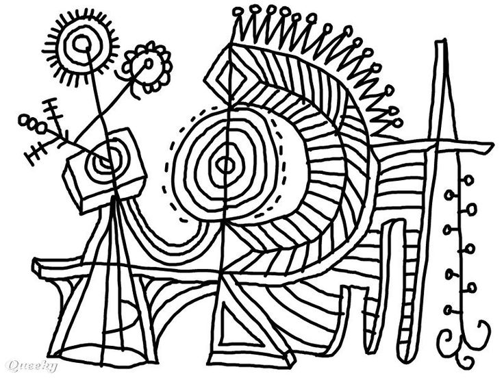 abstract coloring pages pinterest - photo#36