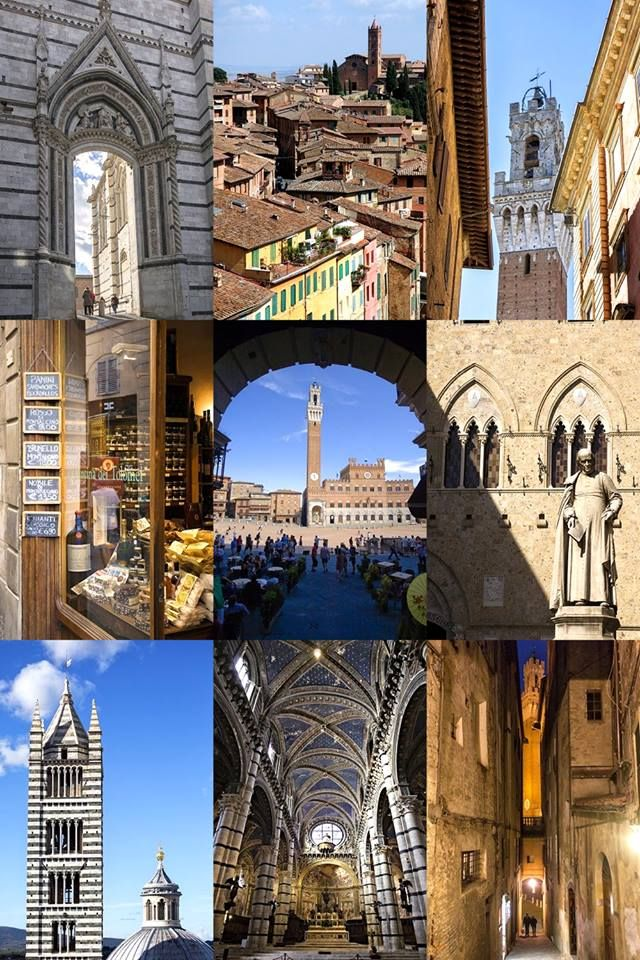 Postcards from #Italy: Greetings from Siena, the city of Palio