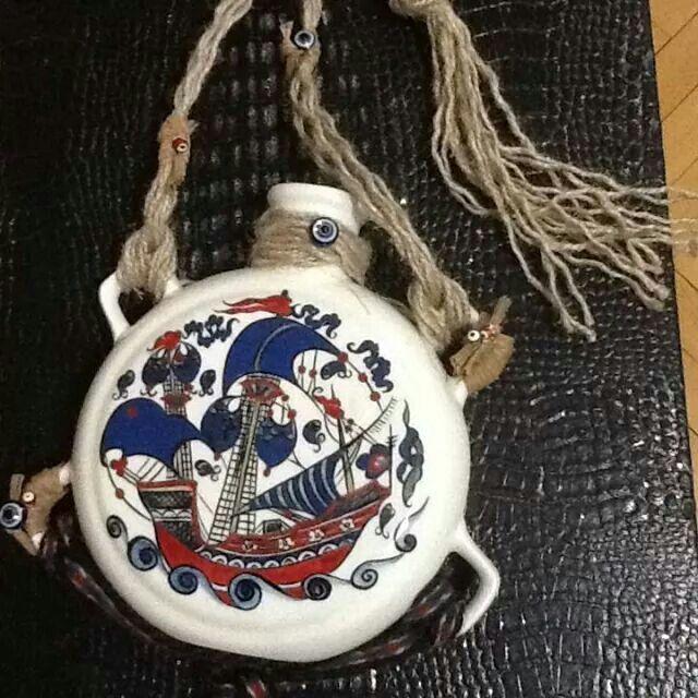 Iznik cini matara handmade ceramic nicea