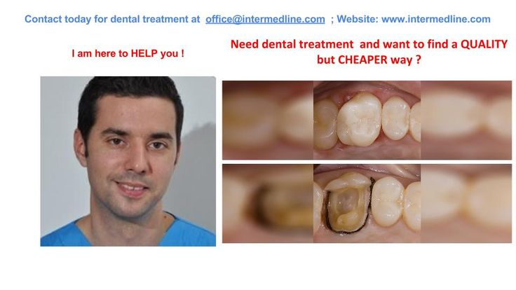 Dental treatment  done by dentist in dental clinic in Romania. Need a teeth repair and looking for a cheap solution? Dental tourism options for you abroad.  Visit website and contact today for your dental treatment at office@intermedline.com: +40 311.073.167/ +40 730.482.672; website:http://www.intermedline.com/dental-clinics-romania/ #dentaltourism #dentaltourisminRomania #dentist #dentistinRomania #dentalclinic #dentalclinicinRomania #dental #dentalinRomania #dentaltravel #dentaltravelinRo