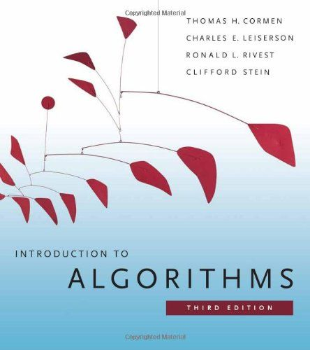 I'm selling Introduction to Algorithms by Thomas H. Cormen, Charles E. Leiserson, Ronald L. Rivest and Clifford - $20.00 #onselz