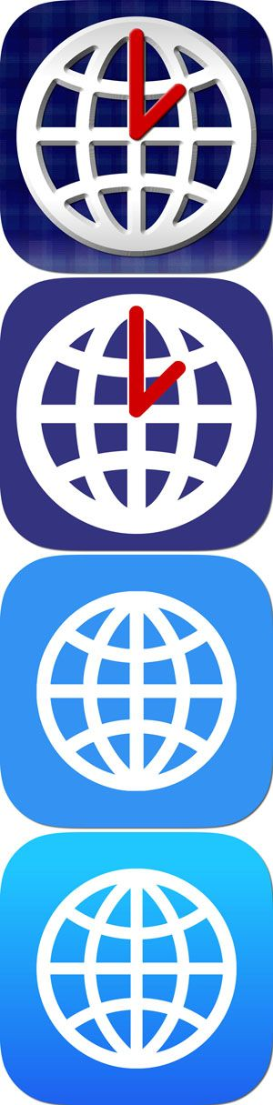 World Clock-Time Difference Clock- #App #Apple #travel #globe