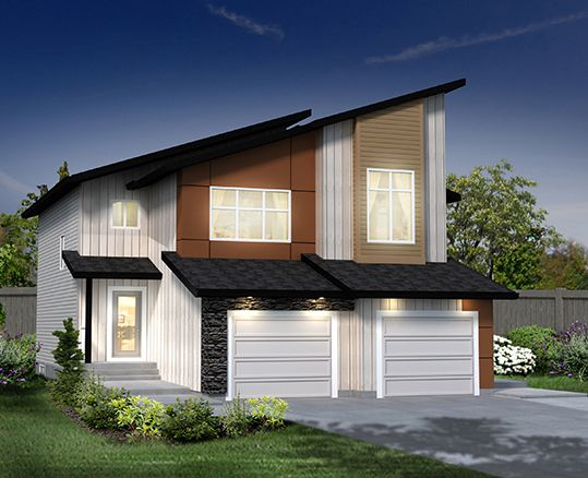 Our Prescot G Duplex ~ available in the ONE at Windermere, Edmonton www.dolcevitahomes.ca