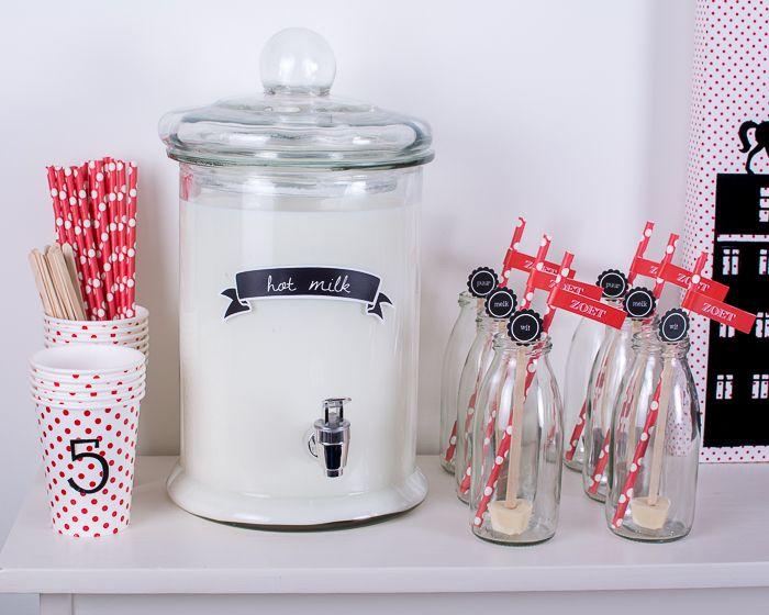 Sinterklaas ; warme chocomel zelf maken !