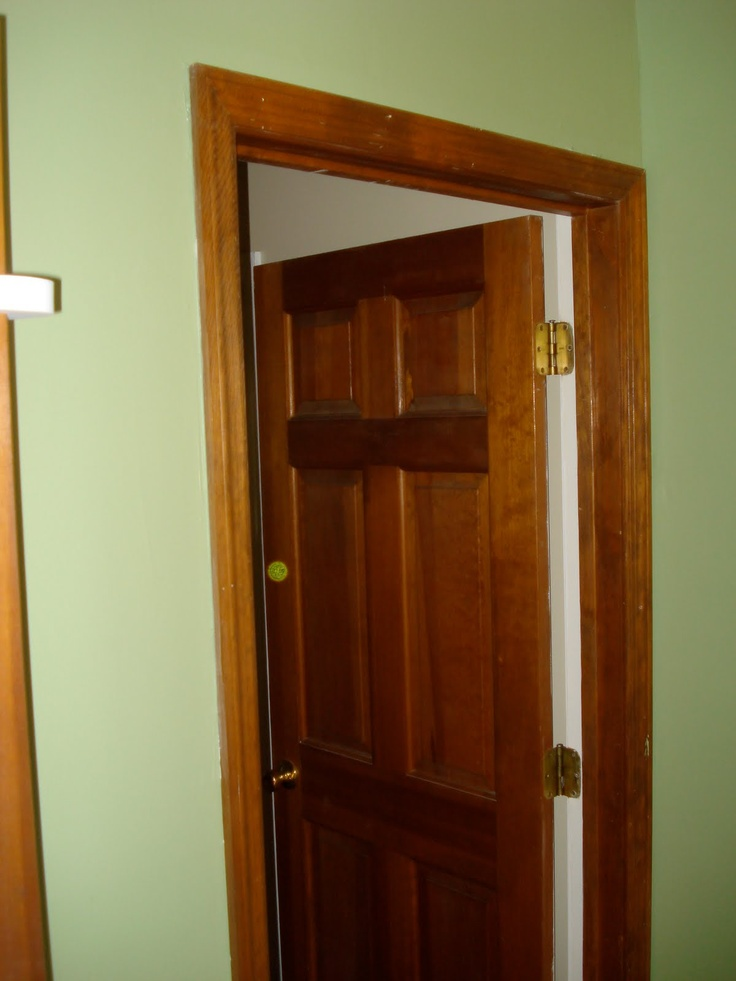 1000 images about green paint ideas on pinterest wood for Wood doors painted trim